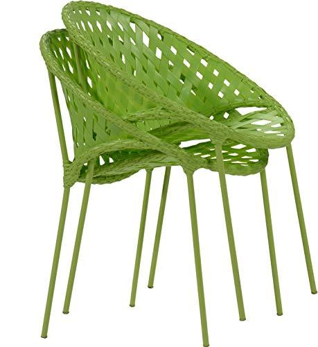 Inspired by David Francis EAW830-CLG2 Fisher Outdoor Stacking Chair, Brown