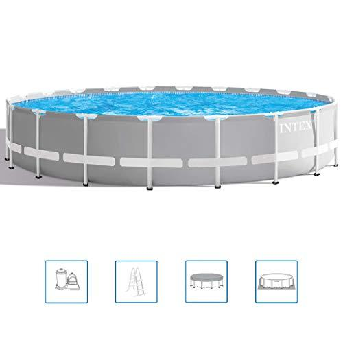 Intex Prism Frame Swimming Pool Set 610x132cm Outdoor Summer Water Centre