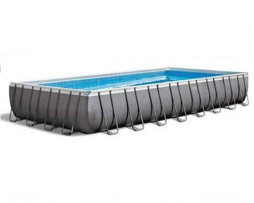 Intex Ultra Frame Rectangular Pool Set with Sand Filter Pump 32ft X 16ft X 52in