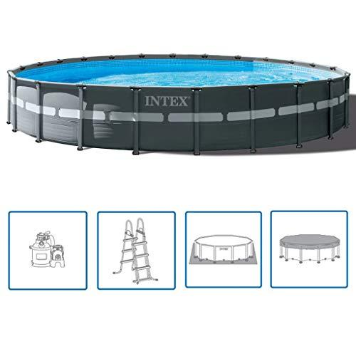 Intex Ultra XTR Frame Swimming Pool Set Round 732x132cm Water Play Centre