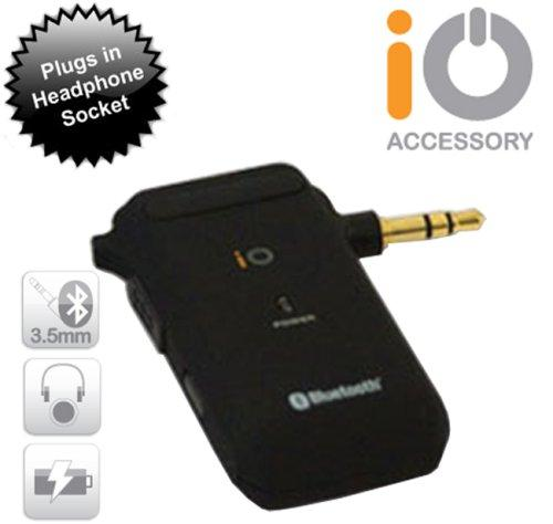 iO 3.5mm Stereo Bluetooth Adaptor (A2DP). For use with iPhone 3G/Ipod/Sat Nav etc..