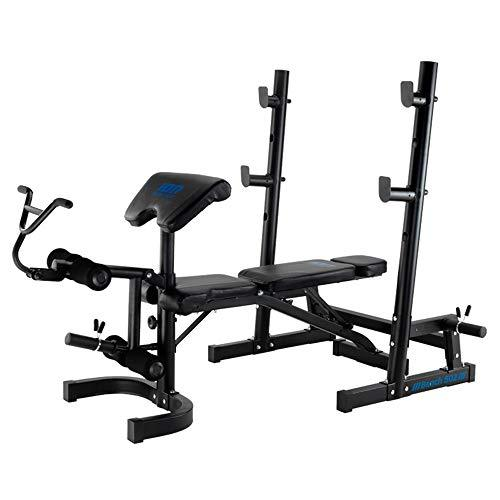 ION Fitness Bench 502 - Adjustable Multi Function Weight Bench Training Station - FI502