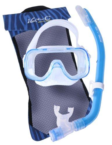 iQ-Company Kids By Tusa Children's Snorkelling Set blue blue Size:One Size