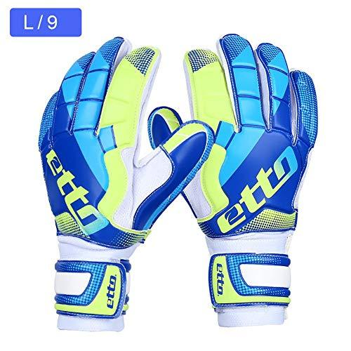 IrahdBowen Football Goalkeeper Gloves Professional Goalkeeper Gloves Negative Cut Soccer Goalkeeper Gloves With Finger Guard Strong Grip For The Toughest Saves To Splendid