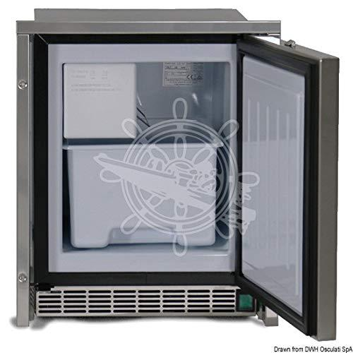 ISOTHERM Low Profile White icemaker