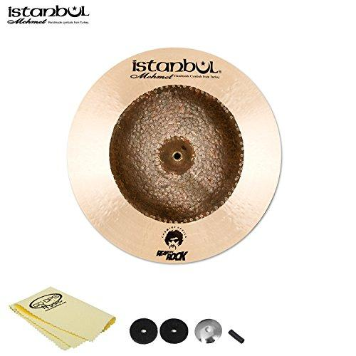 "Istanbul Mehmet Cymbals Carmine Appice China 19"" with Cymbal Felts, Sleeve, Cup Washer and Polish Cloth"