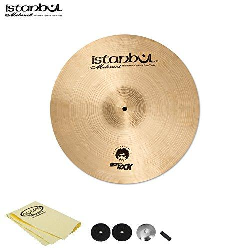 "Istanbul Mehmet Cymbals Carmine Appice Crash 18"" with Cymbal Felts, Sleeve, Cup Washer and Polish Cloth"