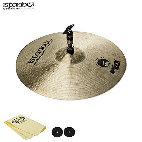 "Istanbul Mehmet Cymbals Carmine Appice Hi-Hat 14"" with Cymbal Felts and Polish Cloth"