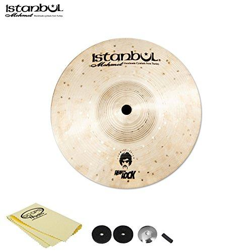 "Istanbul Mehmet Cymbals Carmine Appice Splash 8"" with Cymbal Felts, Sleeve, Cup Washer and Polish Cloth"