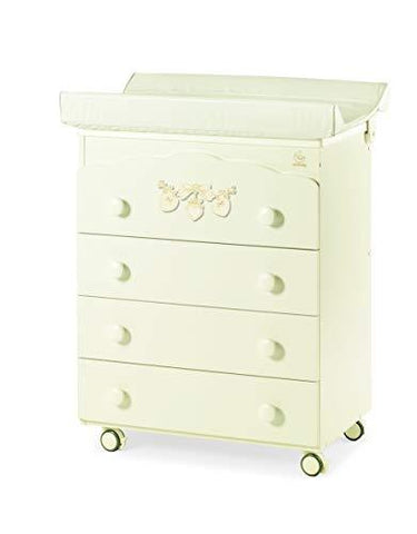 Italbaby 070.7010-0806 Bagnetto 4 Cass.AVO Romantic Drawer Chests, Multi Colour