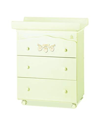 Italbaby 070.7023-0806 Bagnetto 3 Cas.AVO Romantic Drawer Chests, Multi Colour
