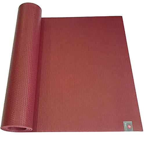 Iyoga soprts PRO Rubber Yoga mat,Non-Slip, high Density,Eco Friendly Material SGS Certified Ingredients ,Thickness 6mm,Specifications 72'' x 24'' Inch (Dark Wine)