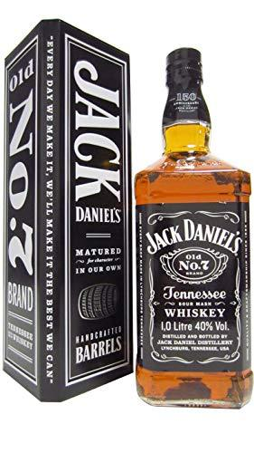 Jack Daniels - Old No. 7 in Metal Gift Box (1 Litre) (Hard To Find Whisky Edition) - Whisky