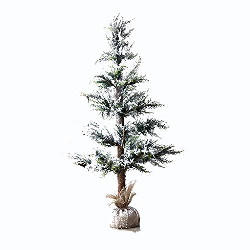 Jia He Christmas Tree - Snow Spray Falling Snow Christmas Tree Decoration Ornaments Cedar Holiday Window Shooting Props Christmas Decoration Holiday supplies (Size : 120x20cm)