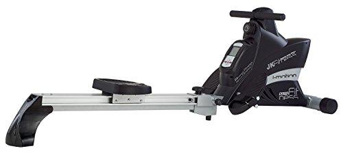 Jk Fitness 5075 Magnetic Rowing Machine, Black/Silver