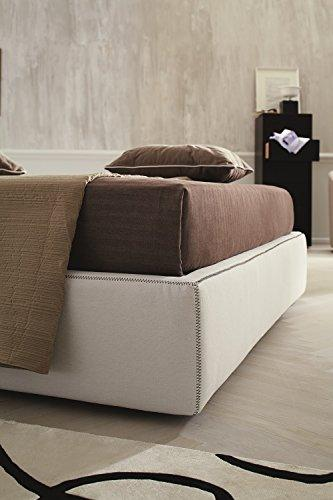 J&M Furniture Clay King Storage Bed, Fabric