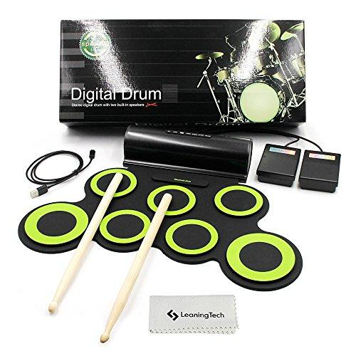 JouerNow 7 Updated Electronic Roll up Drum Pad Kit