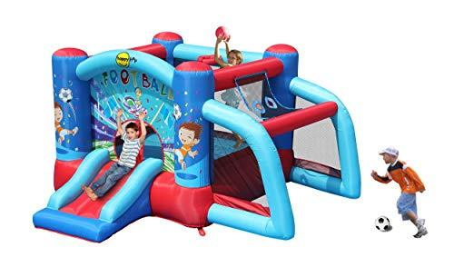 joy house Garden Bouncy Castle with Football Goal 9187