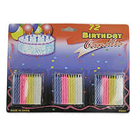 JT Party Supplies Birthday Candles (24 Pack)