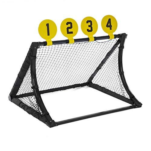 JumpStar Sports Football Training System Goal Kids 4 In 1 Target Shot Rebound Kickback Net Toy
