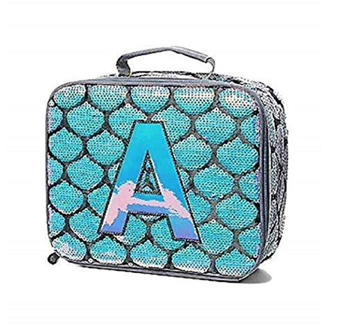 0edb5eb07e ... Justice Girls Mermaid School Backpack Lunch Tote Initial Letter (Letter  L)