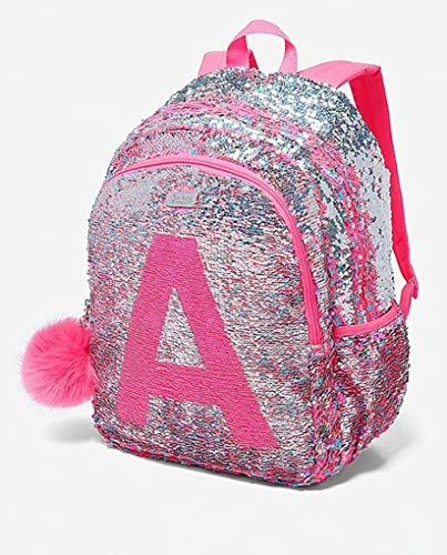 555e2963ccc ... Justice School Backpack Flip Sequin Fearless Shaky Initial (Letter T)  ...