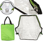 Jwn Green Portable Solar Oven Bag Cooker Sun Outdoor Camping Travel Emergency Tool for Cooking Solar Oven Bag
