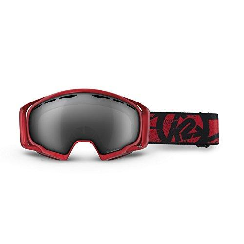 K2 Photo Phase Ski Goggles, One Size, Red