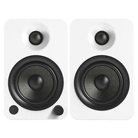 Kanto YU4 Powered Speakers with Bluetooth® and Phono Preamp - Matte White