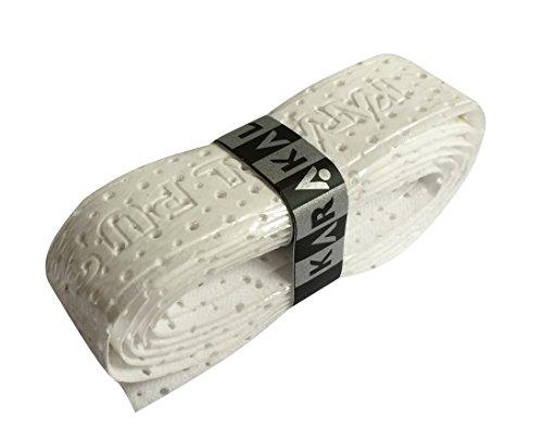 Karakal PU AIR Replacement Grips - Tennis - Squash (10, White)