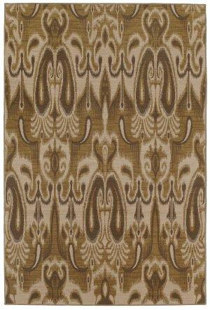 Karastan Ferndale Area Rug - Wheat - 29 in. x 48 in.