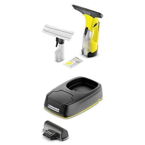 Kärcher WV5 Plus - 3rd Generation Window Vacuum Cleaner with charging station and replacement battery