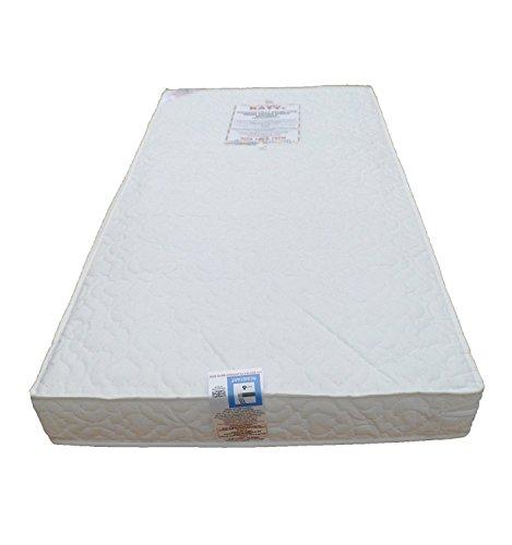 KATY® And Sheet Package Includes: Superior Deluxe Spring Cot Bed Or Junior Bed Sprung Mattress 140x70 x 10cm THICK PLUS 100% Cotton Fitted Sheet MATTRESS is British Made