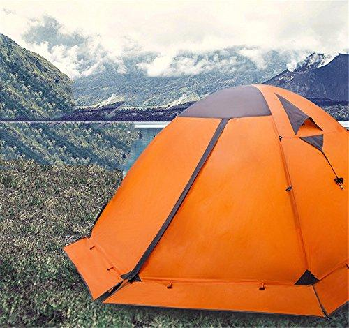 Kaxima Outdoor Snow Mountain Aluminum pole Double-decker tent with snow skirt