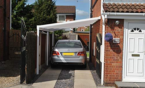 kc kit canopy polycarbonate diy carportveranda or patio cover size 40m