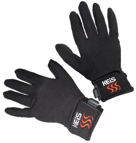 Keis Heated Motorcycle Inner Gloves Small