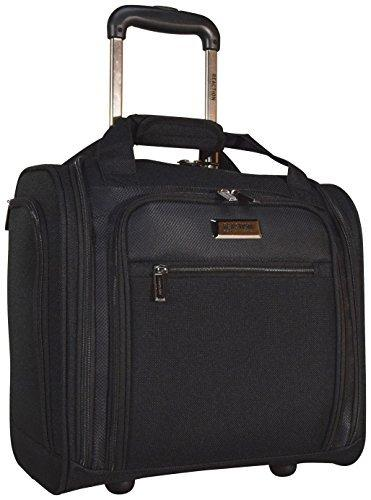 Kenneth Cole Reaction Excursion Wheeled Underseat Carry On Bag (Black)