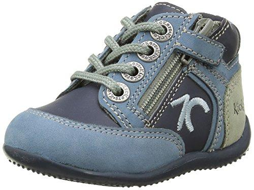 Kickers Baby Boys' Trainers Blue Size: 9.5 Child UK