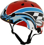 Kiddimoto Men's Small Hero Kinder Kevin Schwantz Helmet, Multicoloured, 48-52cm cm