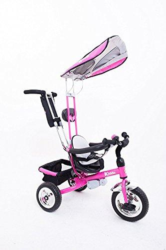 8ed66bc7f3b ... Kiddo Pink Smart New Design 4-in-1 Childrens Tricycle Kids Trike 3  Wheel ...