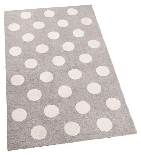 KidKraft Kids Decorative Patterned Rug, Grey