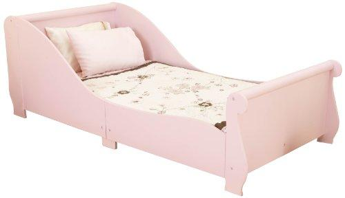 KidKraft Sleigh Toddler Bed 86735 Furniture (Pink)