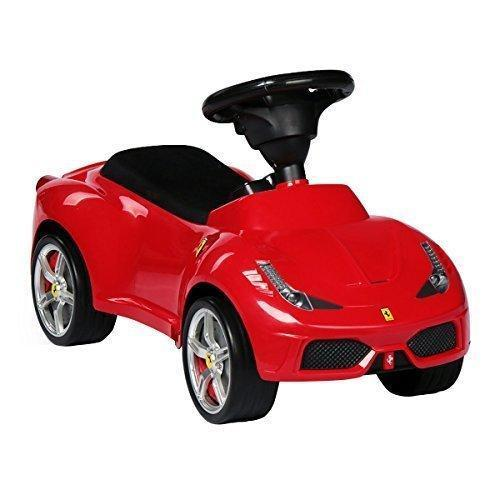 Kids Children's Push Seating Large Car Red Ferrari Bentley Baby Toddler Ride on Foot Licenced Auto for Boys Girls