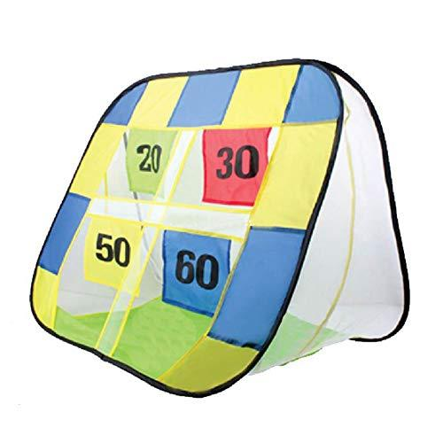 Kids Foldable Portable Football Training Target Net, Soccer Goal Net for Indoor and Outdoor Practice Training Sports