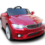 Kikioo 12v Children's Electric Battery Operated Ride On Ride With 2.4G Parental Remote Control, Lights, Music, Mp3 Connectivity, 4 Wheel Suspension, One Button Start Indoor Outdoor Children's Toys Red