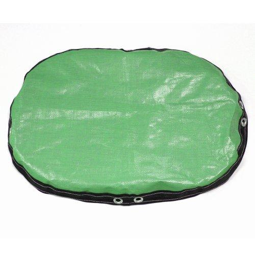 King Covers OVWPC2545GR10 Heavy Duty Winter Oval Pool Cover, 25-Feet by 45-Feet, Green