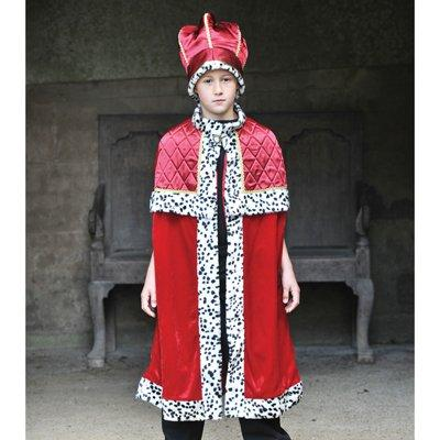 King With Crown - Kids Costume 9 - 11 years