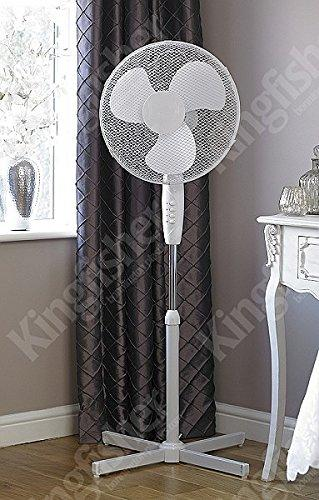 Kingfisher Limitless Pedestal Fan, 16-Inch