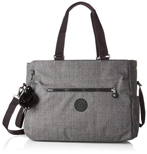 Kipling ADORA BABY Messenger Bag, 38 cm, 20 liters, Grey (Cotton Grey)