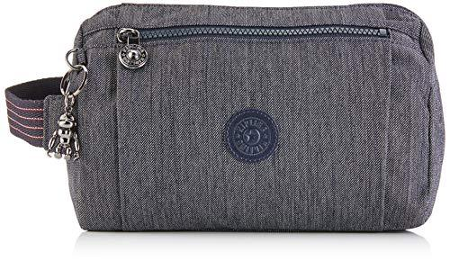 Kipling ANIKI Toiletry Bag, 24 cm, 4.5 liters, Blue (Active Denim)